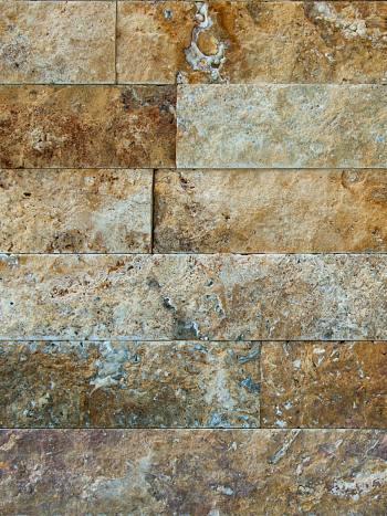 kamenny obklad Kamenný obklad Travertín GOLD pásiky 8x10-40cm