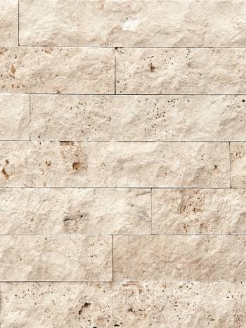 Kamenný obklad Travertín CLASSIC pásiky 8x10-40cm