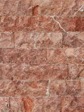 Kamenný obklad Travertín RED pásiky 8x10-40cm