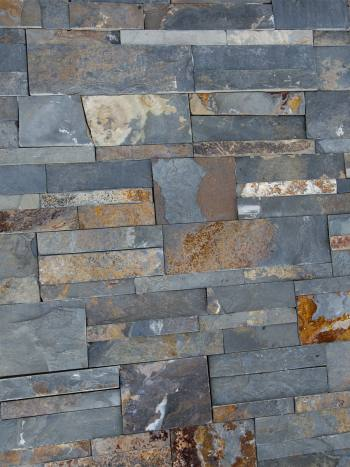 kamenny obklad Obkladový kameň bridlica Oktober Multicolor- 35x18,hr.1-2cm