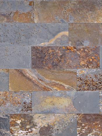 kamenny obklad Obkladový kameň Bridlica DL Brown 30x10cm