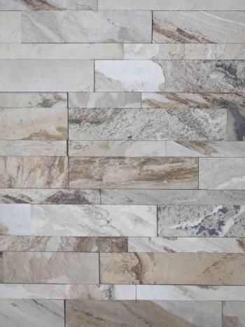kamenny obklad Autumn Cream - kamenná dýha, panel 60x15 cm